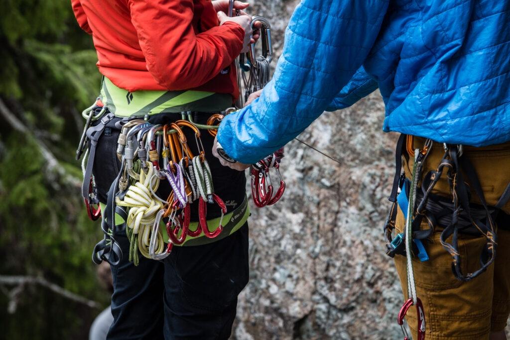 klättring sele