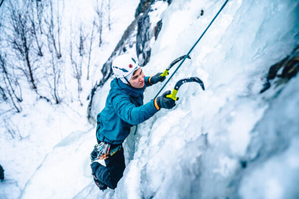 Ice Climbing In Kall