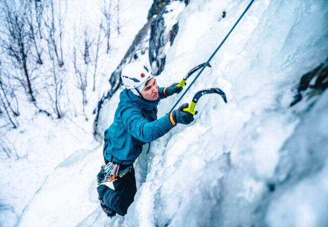 Ice Climbing In Kall